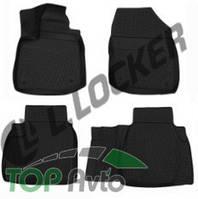 L.Locker Глубокие резиновые коврики в салон Honda Civic 5D IX (11-)