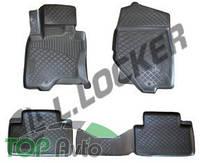 L.Locker Глубокие резиновые коврики в салон Infiniti FX 2008-2012 QX70