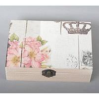 "Шкатулка деревянная для мелочей ""Love"" BH002, размер 5х21.5х5.5 см, шкатулка для драгоценностей, шкатулка для украшений"