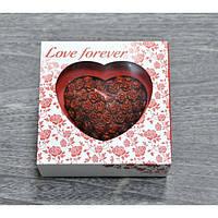 """Свеча """"Love Forever"""" сердце большое S7059, вес - 245 г, свадебные аксессуары, декор для свадьбы, аксессуары для свадьбы"""