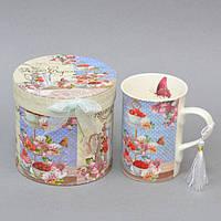 """Чашка фаянсовая для напитков """"Моя сладость"""" CK124, размер 11х8 см, объем 250 мл, в подарочной коробке, чашка для чая, посуда для чая, чашка для кофе"""