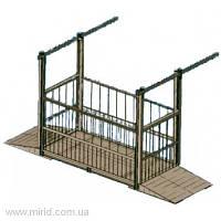 Весы электронные  для взвешивания животных ВТП-Ж-1000 (НВП 1000 кг; дискретность, кг -  0,200; размер платформы, мм - 1000х2000)
