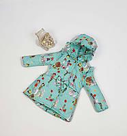 Куртка для девочки  684 весна-осень, размеры на рост от 86 до 104 возраст от 1 до 4 лет