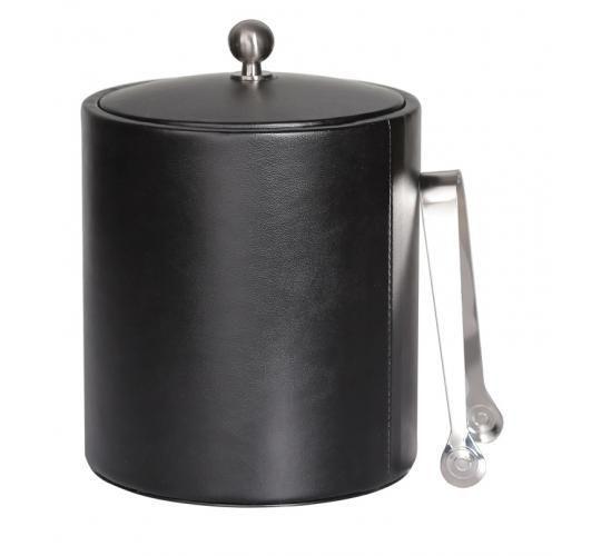 Ведро для льда 1л (черное) (8991028 BK)
