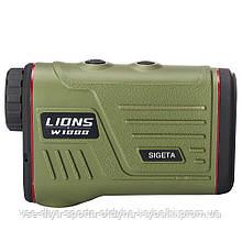 Лазерный дальномер SIGETA LIONS W1000A