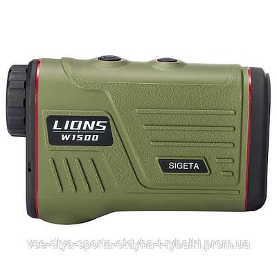 Лазерный дальномер SIGETA LIONS W1500S
