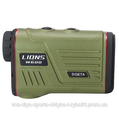 Лазерный дальномер SIGETA LIONS W600A