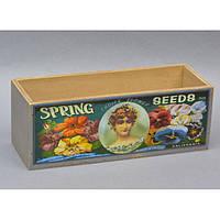 """Ящик деревянный для декора """"Spring"""" FF285-1, размер 9х26х9 см, ящик декоративный из дерева, коробка деревянная декоративная"""