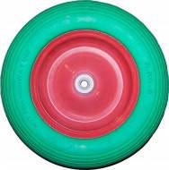 Колесо для тачки полеуритан.370х16х85мм(3.5х8)