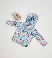 Куртка для девочки  685 весна-осень, размеры на рост от 86 до 104 возраст от 1 до 4 лет
