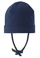 Демисезонная шапка-бини для мальчика Reima Huvi 518456-6980. Размеры 48-54.