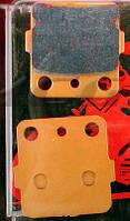 Задние тормозные колодки для квадроцикла 150-250 куб/см