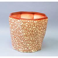 """Вазон керамический для цветов """"Фаворит"""" VS/FAVC, размер 27х25х21 см, вазон для комнатных растений, горшок для растений"""