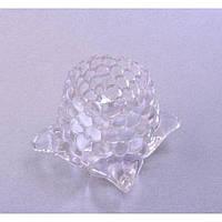 "Подсвечник декоративный для свечей ""Diamond Flower"" 98-11, стекло, 5.5x5.5x5.5 см, подставка для свечи, подсвечник для декора, декор-подсвечник"