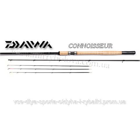 Удилище фидерное Daiwa CONNOISSEUR 12QG FEEDER CNGF 12Q-AU 3,6 до 80
