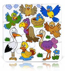 Пазл Бомик Птицы (9 элементов)