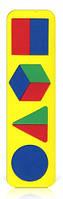 Рамка вкладыш Геометрические фигуры сложные