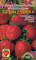 Земляника Толстушка в розовом F1 (ремонтантная, крупноплодная)