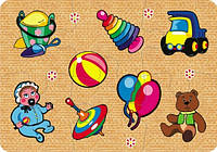 Пазлы для малышей Игрушки (6 элементов), Бомик (752)