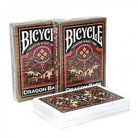 Карты Bicycle Dragon Back Gold