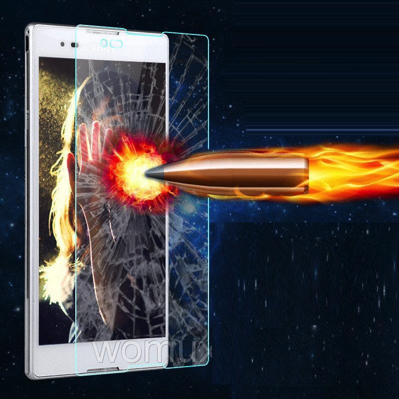 "SONY T2 ULTRA D5322 XPERIA оиригинальное защитное стекло 9H 2.5D 0.3 мм  для телефона "" POLVCDG """