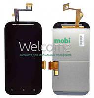 Дисплей для HTC T326e Desire SV with touchscreen black orig (Бесплатная доставка до дверей)