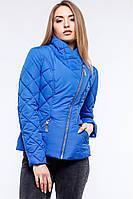Короткая женская  демисезонная куртка-косуха