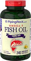 PipingRock Omega 3 1000mg 240 softgel