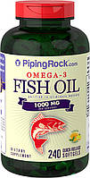 PipingRock Omega 3 1000 mg 240 softgel