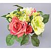 """Композиция цветочная для декора """"Rose"""" SU928, размер 29х22 см, декоративный цветок, искусственное растение, букет искусственных цветов"""