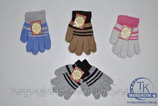 Пани рукавичка Перчатки детские вязаные из ангоры D-43