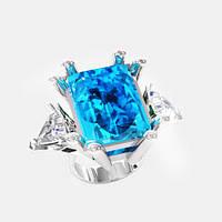 Кольцо  женское серебряное Космос КН-1570