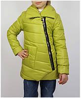 Куртка для девочки  672 весна-осень, размеры на рост от 128 до 146 возраст от 7 до 11 лет, фото 1