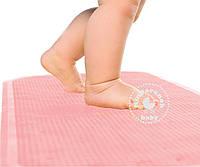 Антискользящий коврик на дно ванны розовый KinderenOK (71113_004)