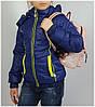 Куртка для девочки  1855 весна-осень, размеры на рост от 116 до 140 возраст от 6 до 11 лет