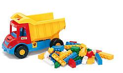 Игрушечная машинка грузовик самосвал с конструктором | Multi Truck Тигрес 39221
