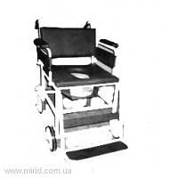 Кресло-каталка с судном для неподвижных больных ККНБС