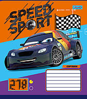 Тетрадь 12 листов в клетку 1Вересня Cars_Speed_Sport, 760434