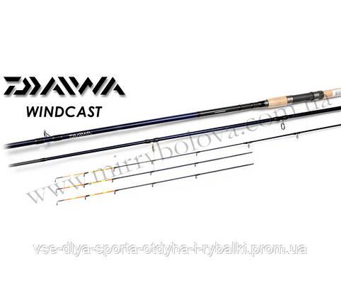 Удилище фидерное DAIWA WINDCAST WNHF13Q-AD 3,9m до 150gr
