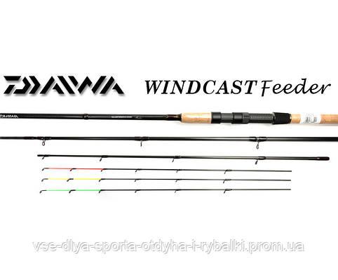 Удилище фидерное Daiwa WINDCAST Feeder 3,90m-120gr
