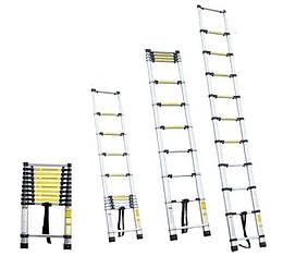 Лестница телескопическая  8ступенек 2.6м
