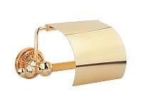 Kugu Держатель туалетной бумаги Kugu Eldorado 811G, золото(811G)