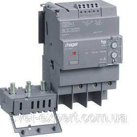Блок ПЗВ Hager HBA125H для вимикачів х160: 3п 125A, витік струму 0.03-6А