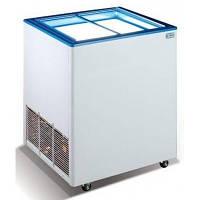 Морозильный ларь со стекляными прямыми скользящими крышками ЭКТОР 16 SGL