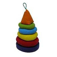 Мягкая детская Пирамидка | Детская пирамидка Радуга