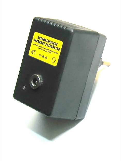 Зарядное устройство аккумуляторов 6 В до 2 Ач
