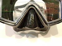 Маска для плавания и дайвинга с панорамными стеклами