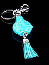 Брелок голубой Будда