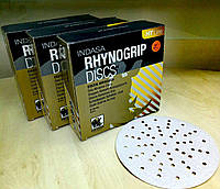 Абразивный диск INDASA RHYNOGRIP HT Line ULTRAVENT - P1500, D150, 57 отверстий.