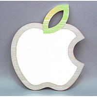 "Зеркало - декор ""Apple"" YG210, , материал - дерево, размер - 42*37 см, декор для дома, декорирование дома, аксессуары для дома"